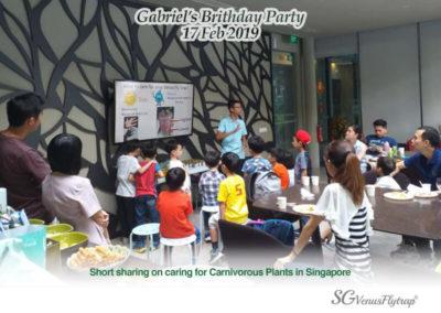 Gabriel Birthday Party I