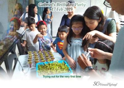 Gabriel Birthday Party V