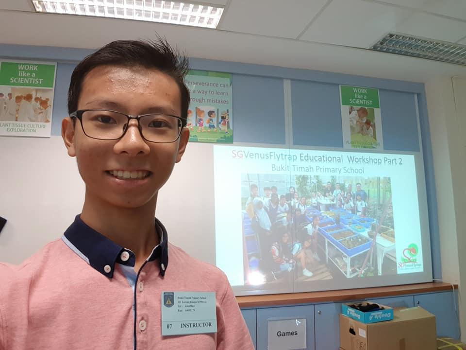 Darren Ng, Founder of SGVenusFlytrap